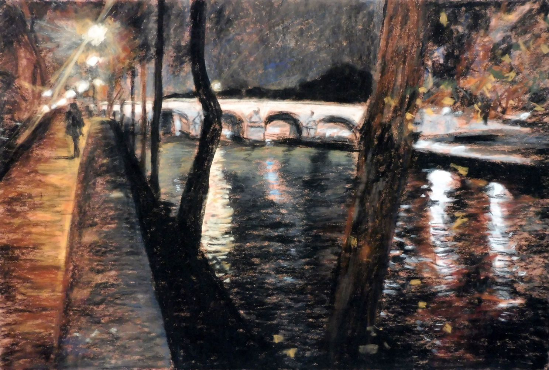 Pont Marie, pastel